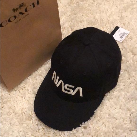 e4a7001baef Coach nasa cap brand new with tag. M 5b39a7b60cb5aab534577630